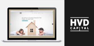 Webseite für einen unabhängigen Finanzdienstleister