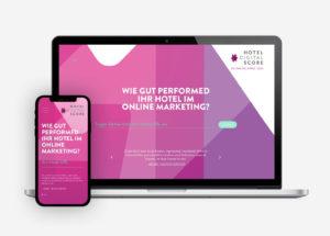 Hotel Digital Score Webdesign